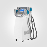 coolsculpting body slimming fat freezing cryolipolysis machine 4 handles
