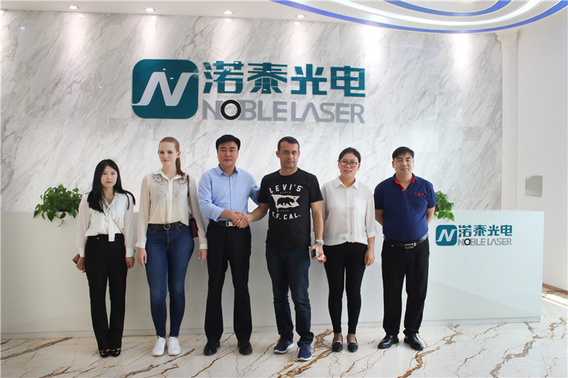Welcome Spanish customers to visit Noble Laser